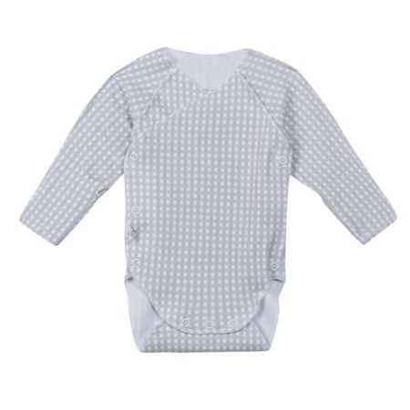 Absorba Babies wrap-top long-sleeved body + mitts