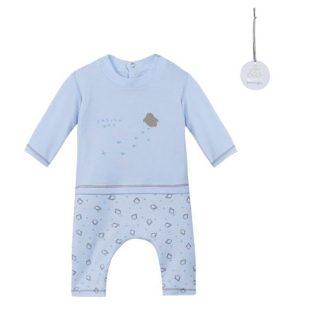 Absorba Baby Boys Penguin-Print Cotton Outfit