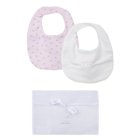 Absorba Set of Cotton Bibs