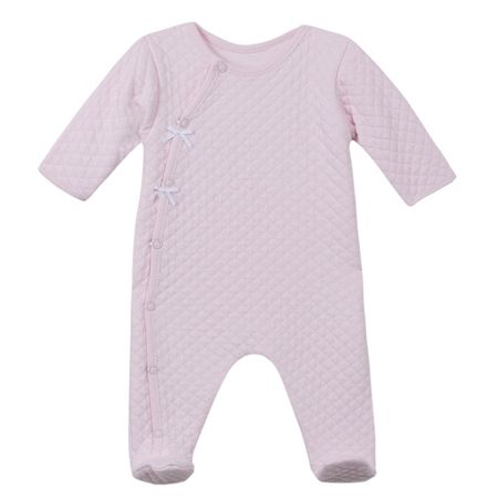 Absorba Baby Girls Quilted Sleepsuit