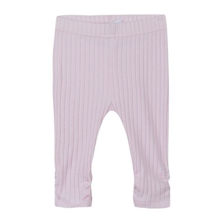 Absorba Baby Girls Ribbed-Cotton Leggings