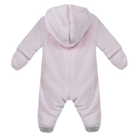 Absorba Baby Hooded Faux-Fur Sleepsuit