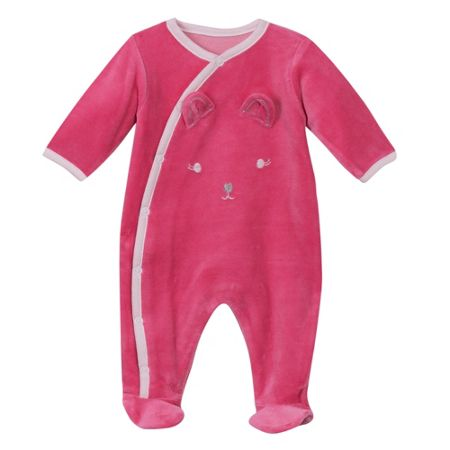 Absorba Baby Rabbit-Print Pyjamas