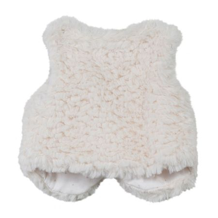 Absorba Baby Girls Faux-Fur Gilet