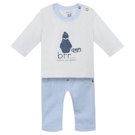 Absorba Baby Boy Penguin Outfit