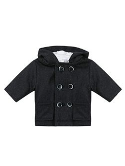 Baby Boy Wool Blend Coat