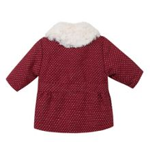 Absorba Baby Girls Faux Fur-Collar Coat