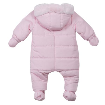 Absorba Baby Girls Hooded Snowsuit