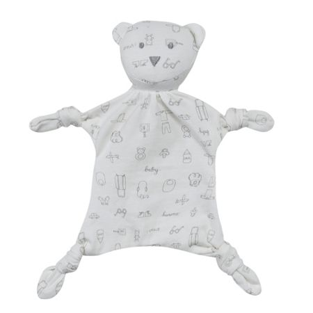 Absorba Baby Nomade Cotton-Jersey Teddy Bear