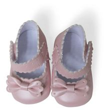 Absorba Baby Girls Faux Leather Booties