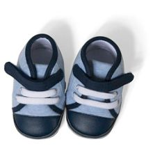 Absorba Baby Boys Velctro Strap Booties