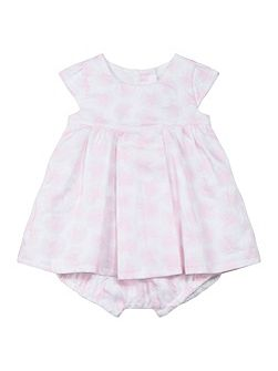 Baby Girls Rose-Print Dress