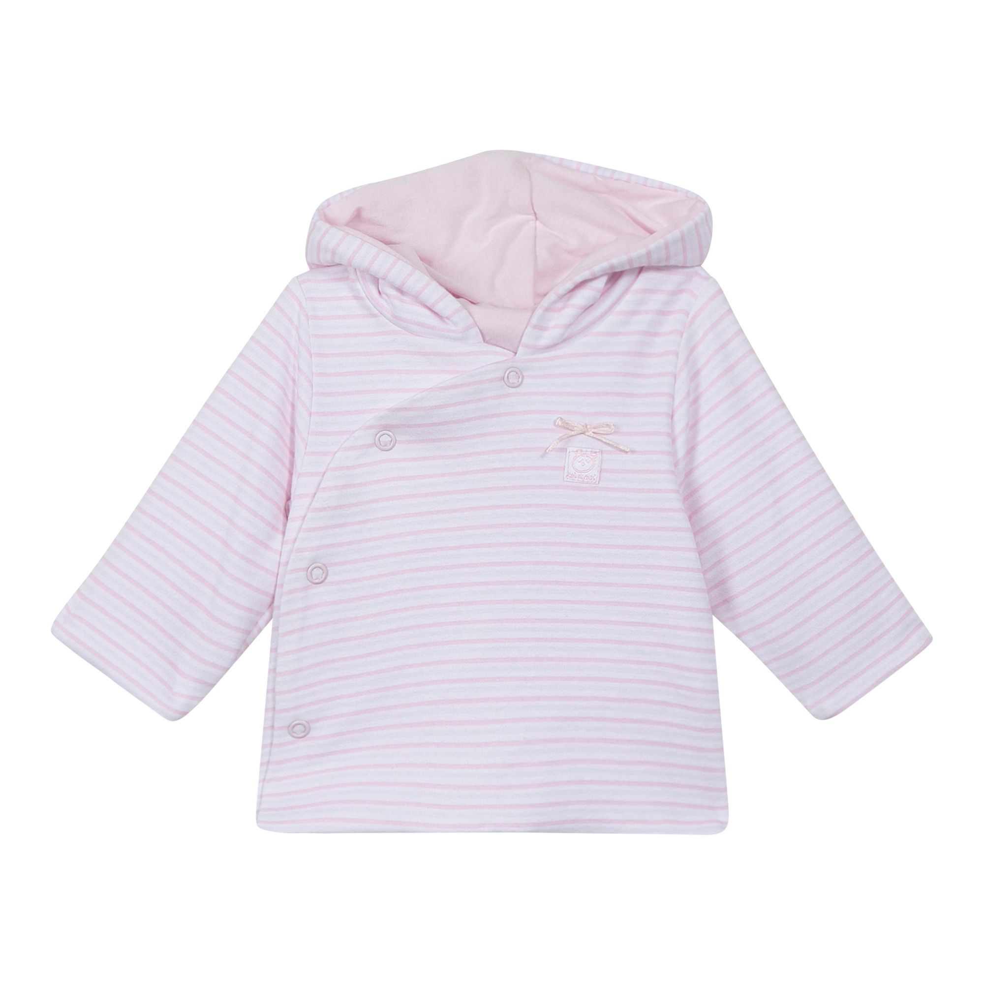 Absorba Absorba Baby Natural Cotton Coat, Pink