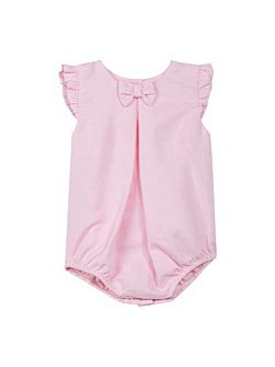 Baby Girls Bow Playsuit