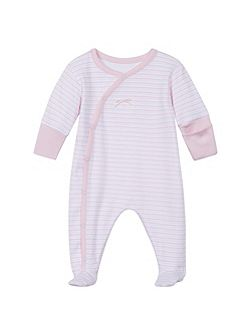 Baby Natural Cotton Sleepsuit