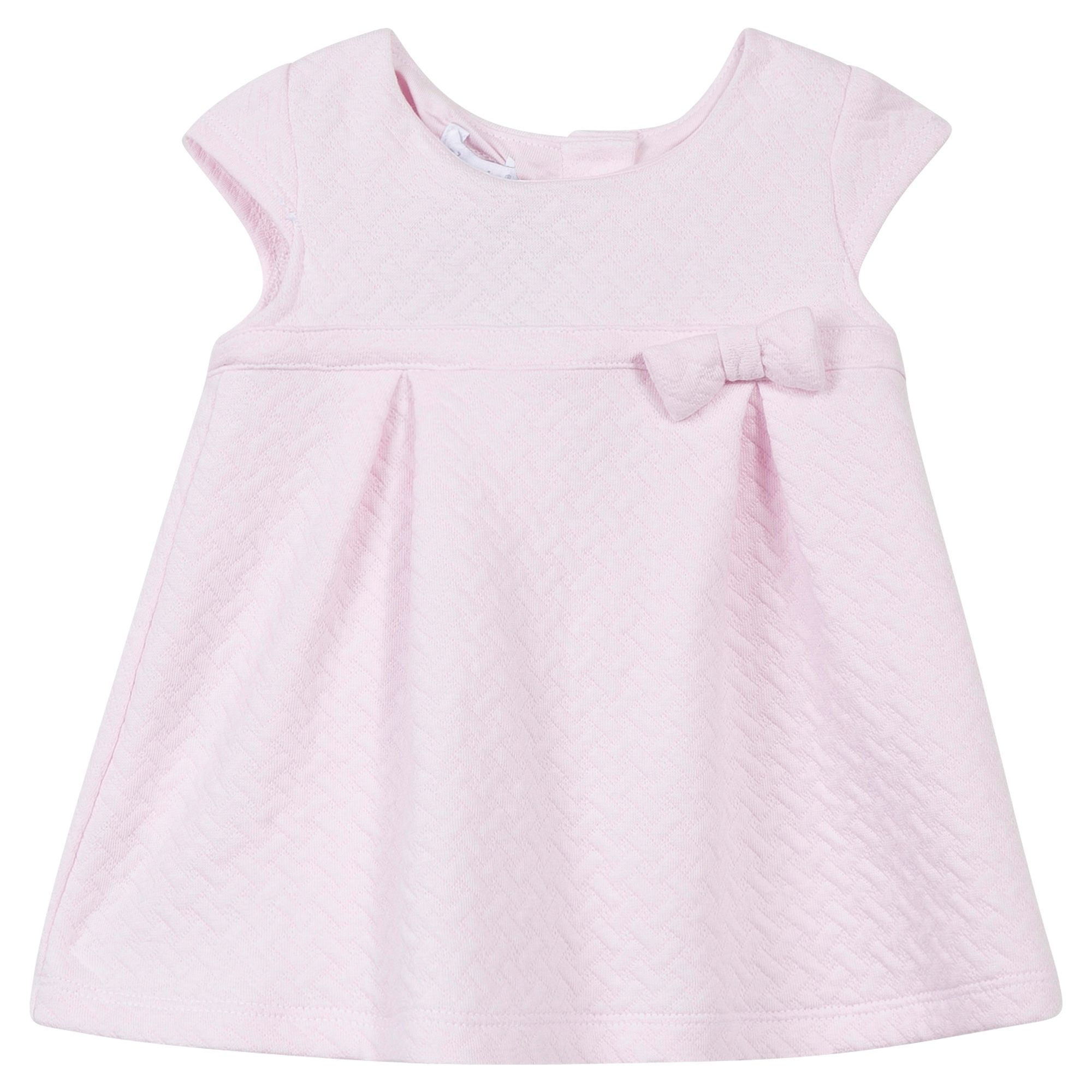 Absorba Absorba Baby Girls Cotton Bow Dress, Pink
