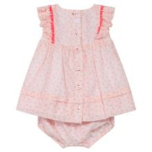 Absorba Baby Girls Patterned Dress with Bloomers