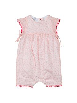 Baby Girls Floral Print Playsuit