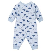 Absorba Baby Boys Whale-Print Playsuit