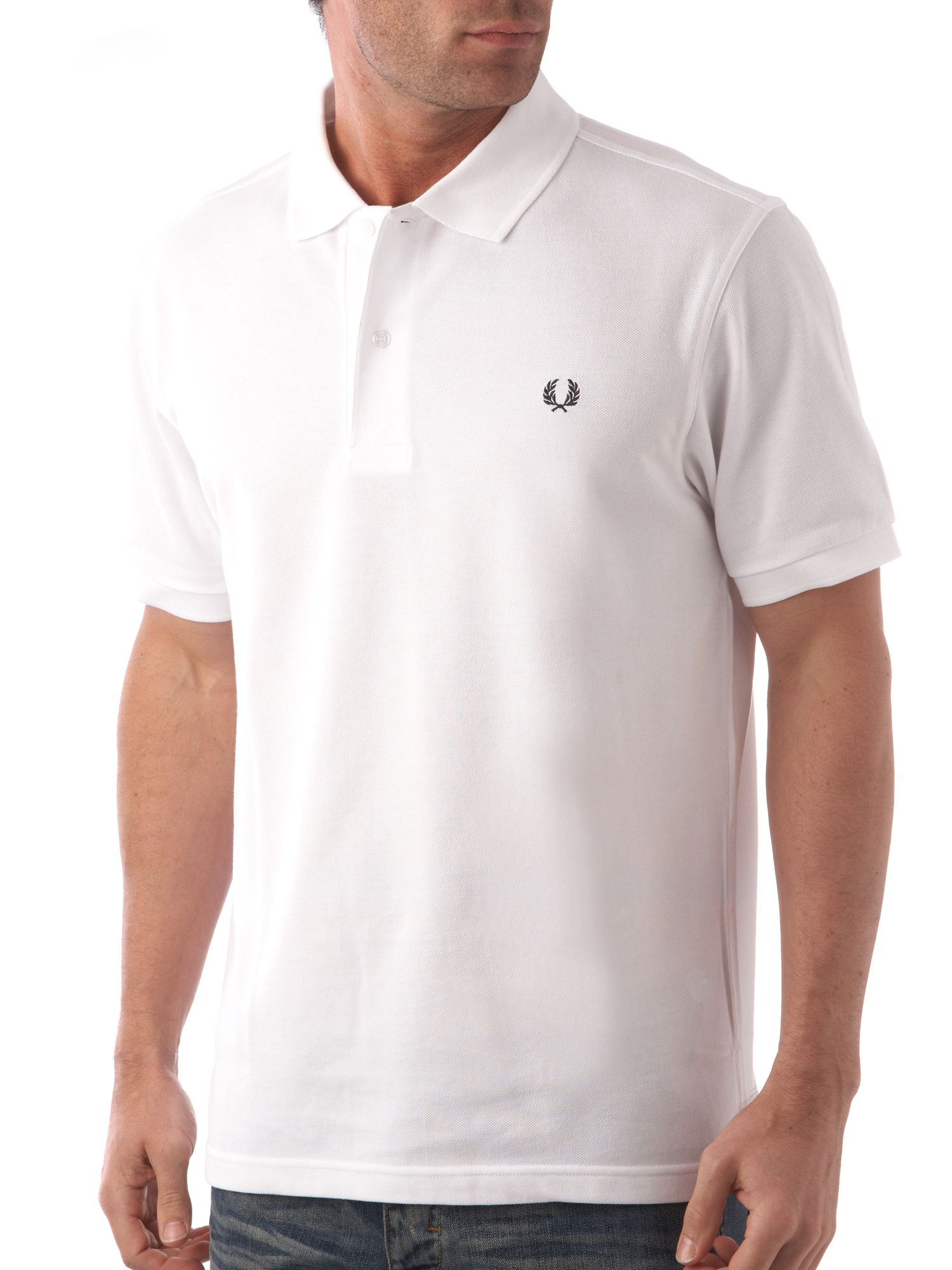 Men&39s Fred Perry Classic pique polo shirt White