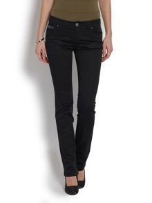 Bootcut jeans with glitter detail