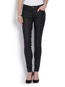 Morgan Slim Fit Jeans with Zipped Detailing