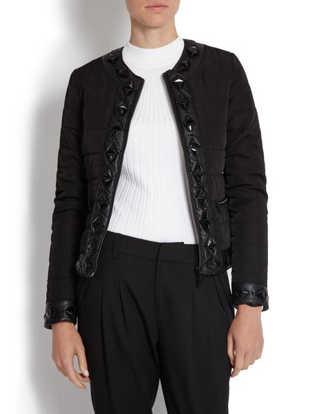 Morgan Quilted jacket with jewelled detail