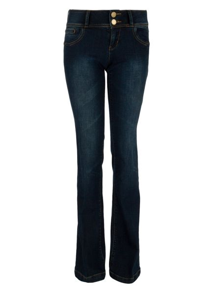 Morgan High-waisted flared denim jeans