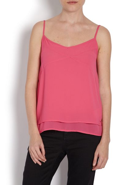 Morgan Loose-fitting floaty vest top