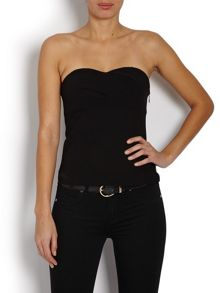 Simple bustier top with classic design