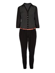 All-in-one trouser onesie