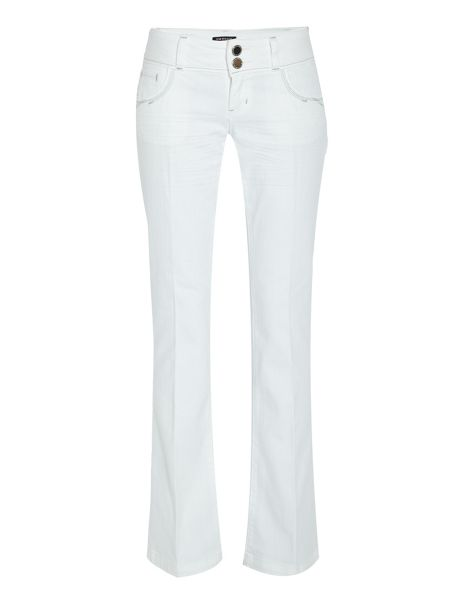 Morgan Classic Flared Jeans with Pocket