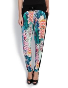 Morgan Slim-fit Trousers with Floral Patterning