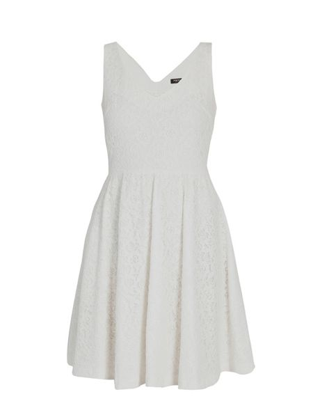 Morgan Baby doll-style Dress with Buttoned Back