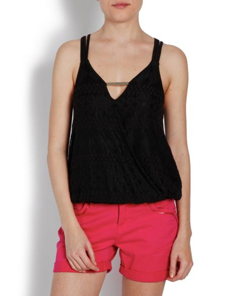 Morgan Loose-fit Top with Strap Detailing