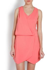 Short Playsuit with Skirt-Style Layer