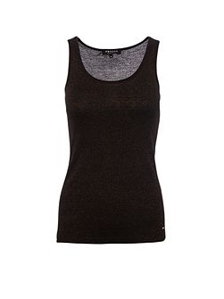 Morgan Glittery knitted vest top