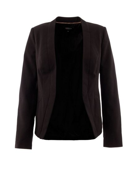 Morgan Classic tailored collarless jacket