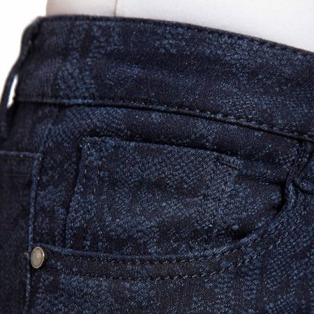 Morgan Slim-fit patterned jeans