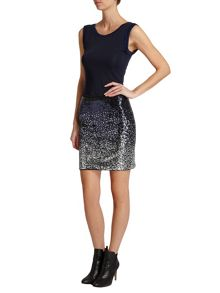 Morgan Sequinned Pencil Skirt