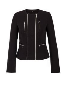 Morgan Asymmetrical Design Jacket