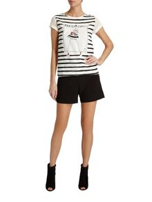 Morgan Striped Paris Chic top