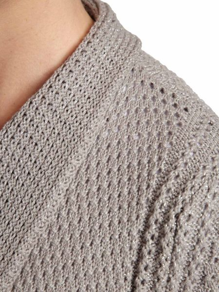 Morgan Knitted Cotton Waterfall Sweater