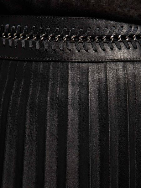 Morgan Waistband-Detail Pleated Skirt