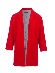 Morgan Relaxed-Fit Notched-Collar Jacket
