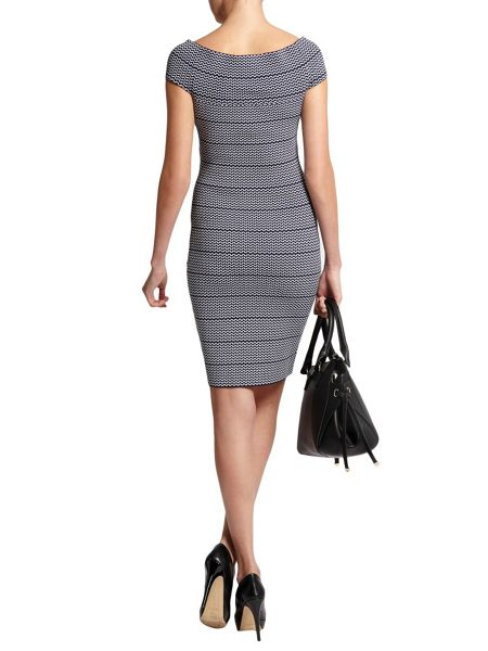 Morgan Bandeau-Style Patterned Dress