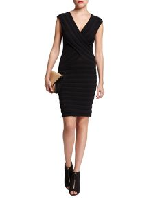 Morgan Ribbed-design sleeveless dress