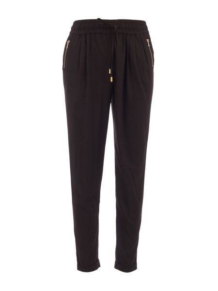 Morgan Loose-fit cropped trousers