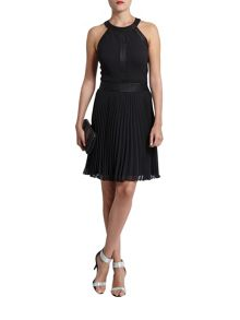 Morgan Chic Monochrome Evening Dress