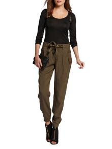 Morgan Front-Tie Cargo Trousers